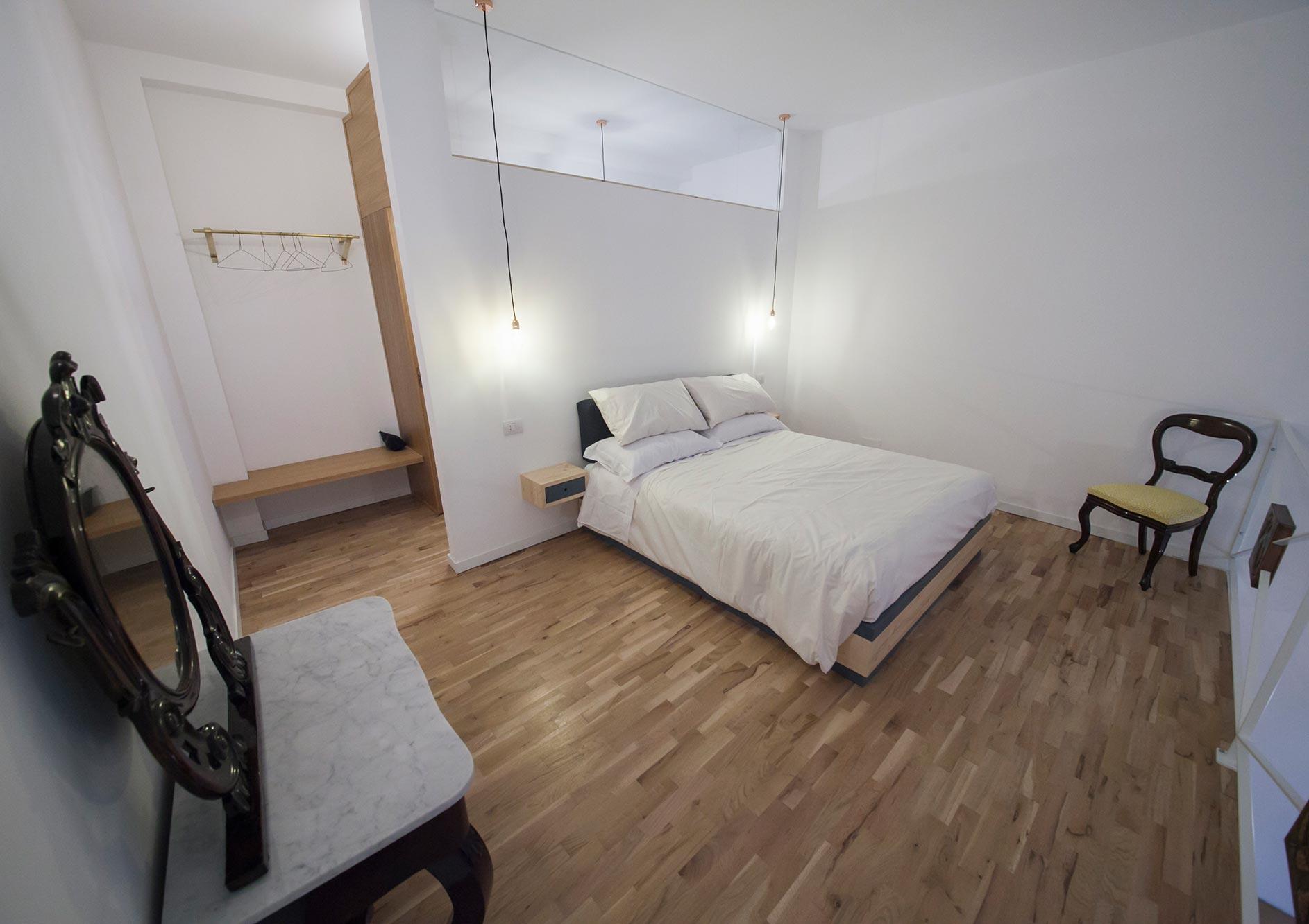 Camera spaziosa di 45 mq. Ottimo per una famiglia