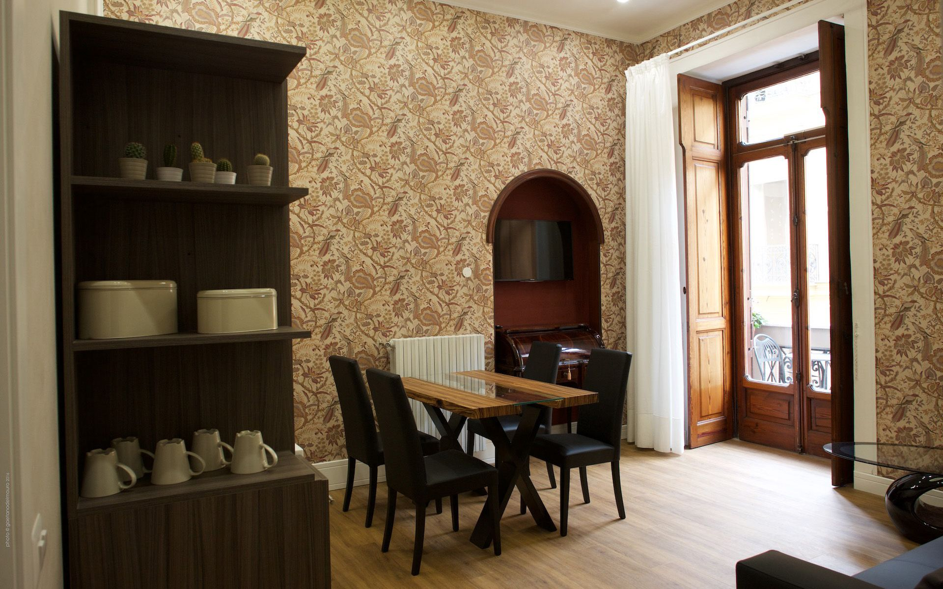Un bed and breakfast in un palazzo nobiliare del 900